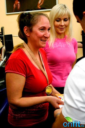 Турнир по жиму лежа-2009 в Janinn Fitness