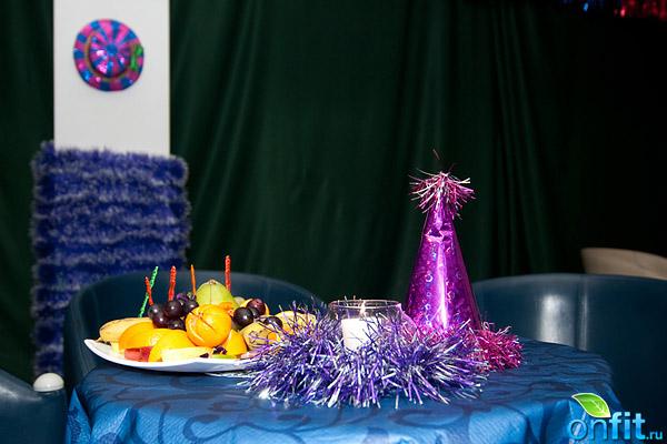 Новогодний танцевальный карнавал в фитнес-клубе