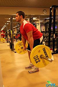 Упражнения для бедер и ягодиц: Становая тяга