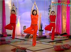 йога для начинающих: видео