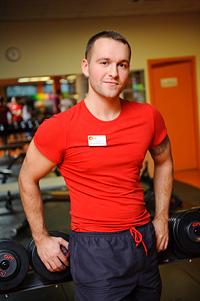 Алексей Иванов, инструктор тренажерного зала фитнес-клуба «Арт-Спорт»