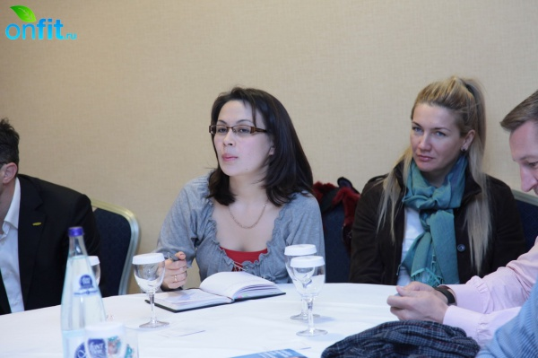 Русская делегация на IHRSA 2010