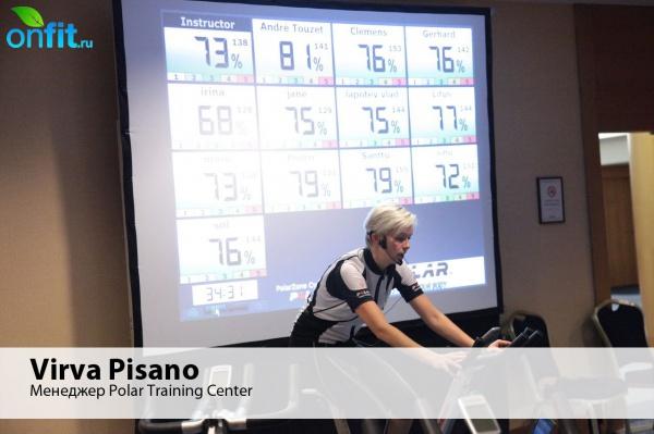 Система Polar Zone - групповая велотренировка с эффектом индивидуального занятия