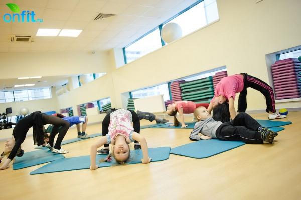 Детский фитнес в клубе «Арт-Спорт»
