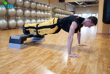 Комплекс упражнений для мужчин: отжимания