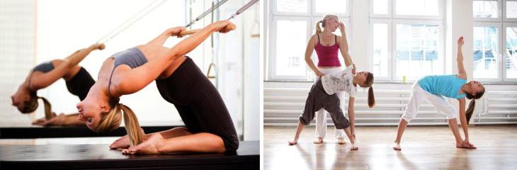 система упражнений пилатес для всех возрастов