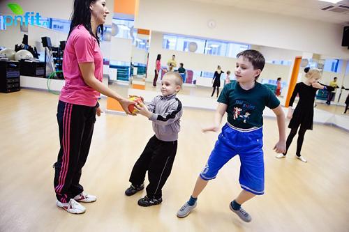 Детский фитнес ждет клиентов в возрасте от 1,5 лет