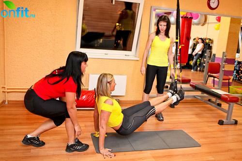 Персональный тренинг с TRX в клубе «Адреналин»