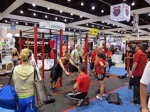 На фитнес-конвенции можно познакомиться с новым оборудованием