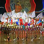 Спортивно-музыкальный спектакль «Новые приключения Чиполлино и его друзей»