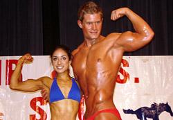«Мистер и Мисс Олимп» в фитнес-центре «АВ-Флекс»!