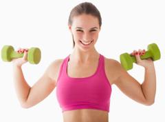 Как накачать мышцы рук? Комплекс упражнений для девушек