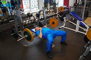 Упражнения на трицепс: жим узким хватом