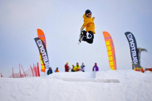 В России появятся сноуборд-парки Burton