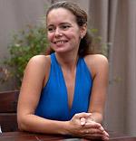 Ольга Липатова, член Спортивной Федерации фитнес-аэробики Санкт-Петербурга, ведущая занятий по пилатесу для беременных.