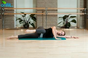 Упражнение на переднюю поверхность бедра