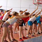 Детский турнир по аэробике «Елка в кроссовках»