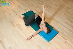 Упражнение на растяжение грудины и боковых межреберных мышц