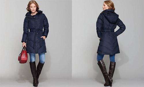 Стеганые зимние куртки - тренд зимы 2011/2012