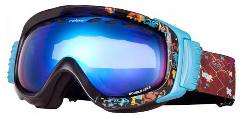 Очки-маска для сноуборда Raptor New с двойными поляризационными линзами