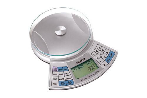 Диетологические кухонные весы