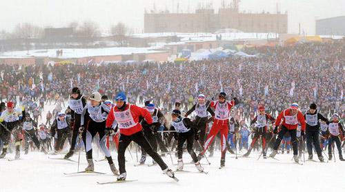 XXX открытая Всероссийская массовая лыжная гонка «Лыжня России-2012»