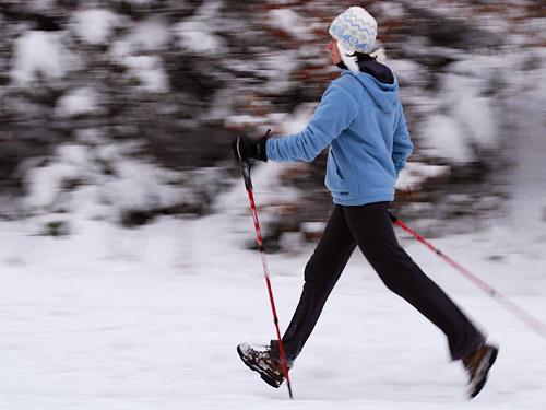 «Школа скандинавской ходьбы» проведет занятия на новогодних праздниках