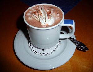 Горячий шоколад – лучшее средство для борьбы с сезонной депрессией.