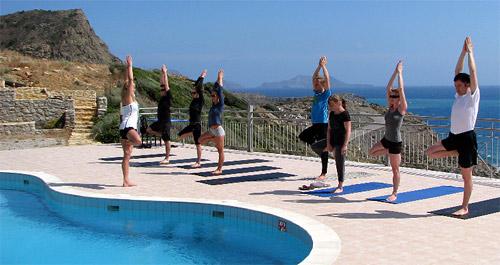 «Греческие каникулы» - йога-тур на Эгейское море