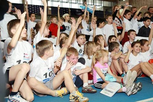 Юные легкоатлеты встретят «Детскую Русскую зиму»