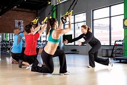 Новое направление подвесного функционального тренинга Jungle Gym представлено в «Фитнес-центре 100%»