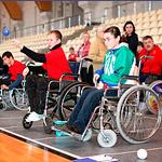 Соревнования по боччи в рамках спартакиады «Мир равных возможностей»