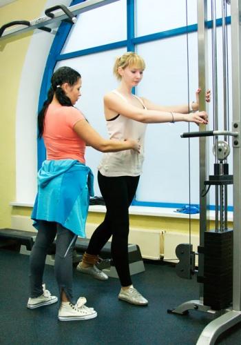 Персональный тренинг в клубе «Мир Фитнеса»