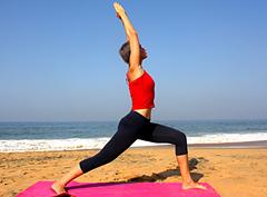 Йога для стройных ног