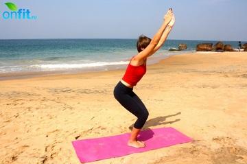 Йога для стройных ног – Утканасана