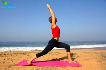 Йога для стройных ног – Вирабхадрасана 1
