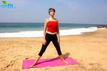 Йога для стройных ног – Поза ступы