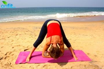 Йога для стройных ног – Поза широкого угла