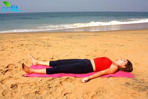 Йога для стройных ног – Шавасана