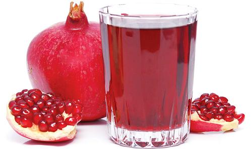 Гранатовый сок помогает худеть
