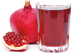 Гранатовый сок поможет похудеть