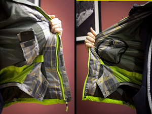 «Фишки» одежды для сноуборда: снегозащитная юбка, манжеты на куртке, мягкий флис на внутренней части одежды, там где это необходимо, «мягкий» карман для маски.