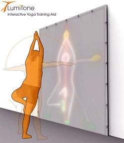 LumiTone – интерактивное устройство для личной практики йоги