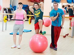 В гостях у фитнес-клуба Jump
