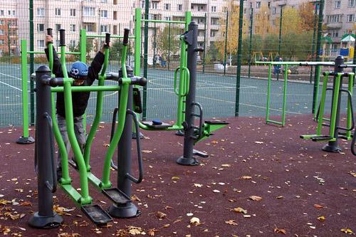 В Москве появятся дворовые фитнес-клубы