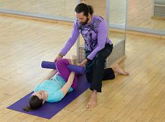 Йога. Комплекс для коленей