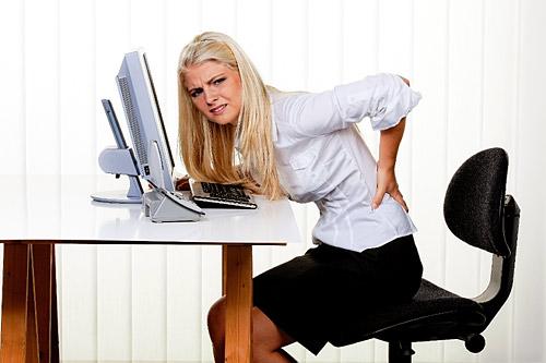 Болит поясница? Измените отношение к работе!