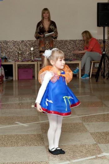 Детский танцевальный конкурс — «Фитнес-вызов 2012»
