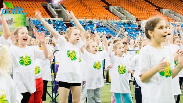 Открытие Международного Фестиваля физкультуры и спорта «Наш выбор — здоровый образ жизни!»