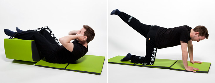 В комплект также входят карематы, которые станут отличным дополнением к «тренировкам» на стуле.
